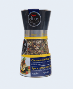 spicy lemon & herbs seasoning