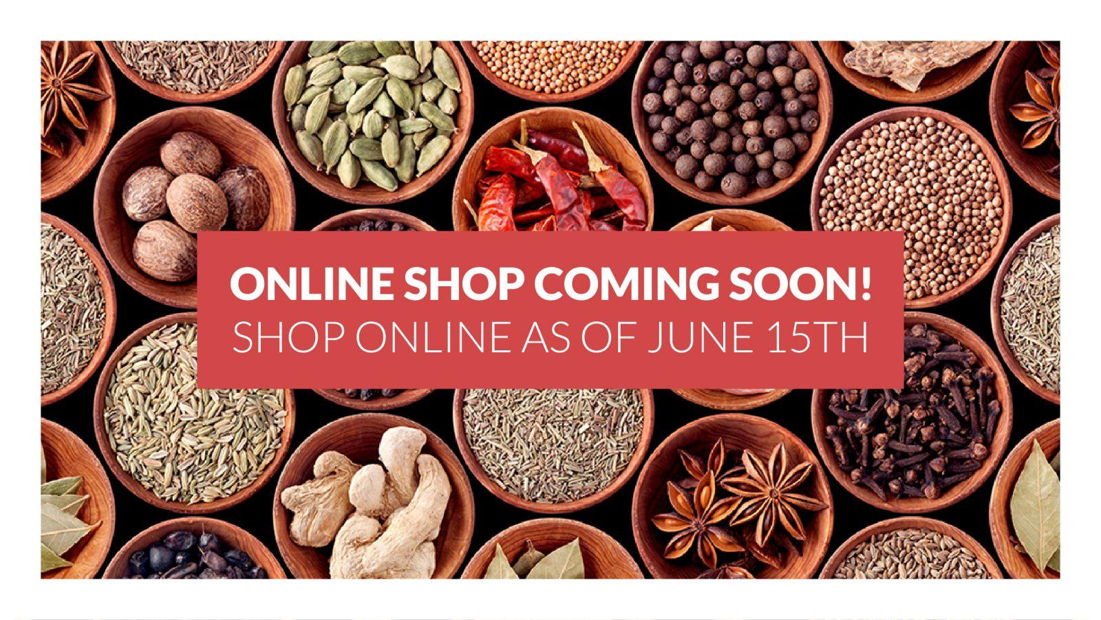 online store shop spices