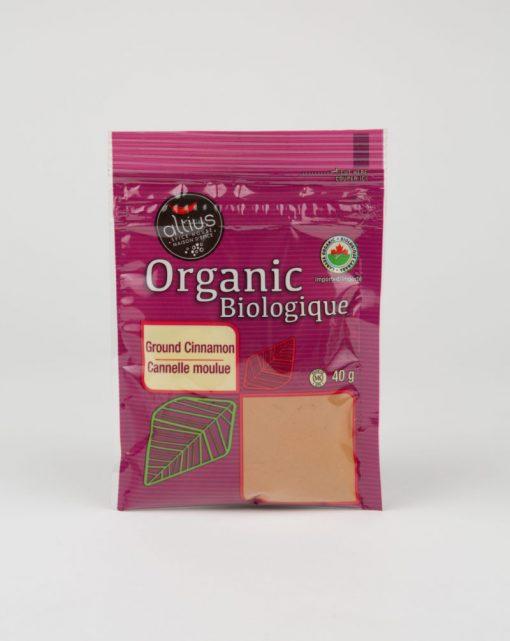 organic cinnamon