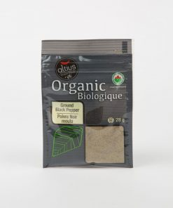 Organic black pepper